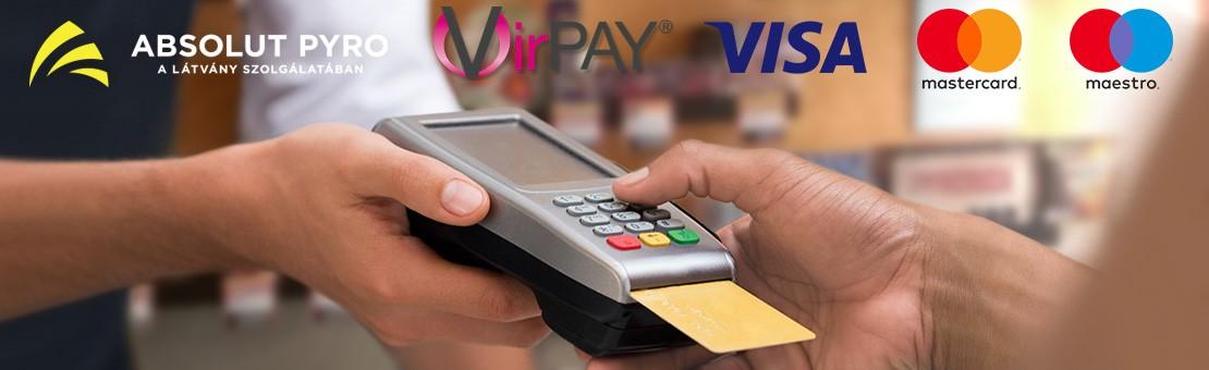 Egyszerű és biztonságos fizetés bankkártyával